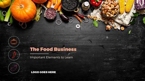 food powerpoint template free simple timeline powerpoint templates slidestore