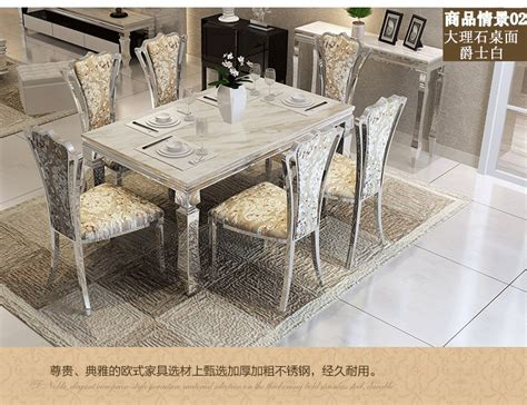 dining table sets marble dining table 4 chairs modern