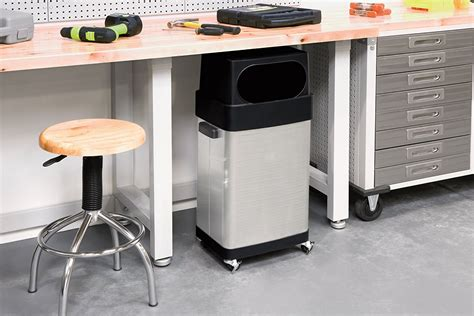 Stainless Steel Trash Can Kitchen With