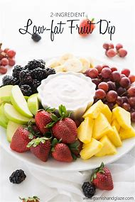 Fruit Dip with Cool Whip and Yogurt Recipe