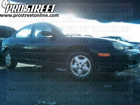 How Dodge Neon Stereo Wiring Diagram Pro Street
