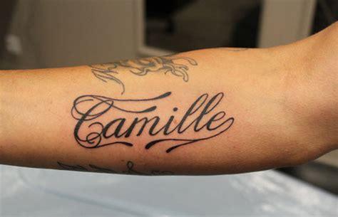 tatouage prenom avant bras interieur tatouage avant bras prenom mod 232 les et exemples