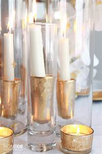Candle holders diy design decoration for What kind of paint to use on kitchen cabinets for hanging candle holders glass