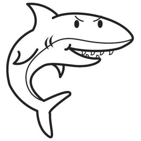 disegni per bimbi piccoli 10 disegni squali facili da colorare per bambini piccoli