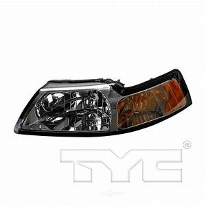 TYC Headlight Assembly 2000 Ford Mustang-20-5696-01 - The Home Depot