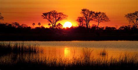 Okavango Delta Sunset | Sunset we were lucky enough to ...