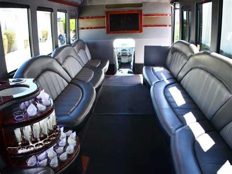 san jose party bus limo bus rental  service  santa