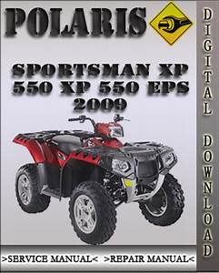 2009 Polaris Sportsman Xp 550 Xp 550 Eps Factory Service