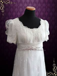 31 best vintage wedding dresses images on pinterest With regency style wedding dress