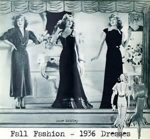 1930s Autumn Fashion – Window Shopping in 1936 Glamourdaze