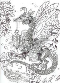 printable dragon coloring pages  adults everfreecoloringcom
