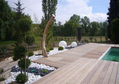 placard cuisine moderne aménagement d 39 un tour de piscine dans les cévennes