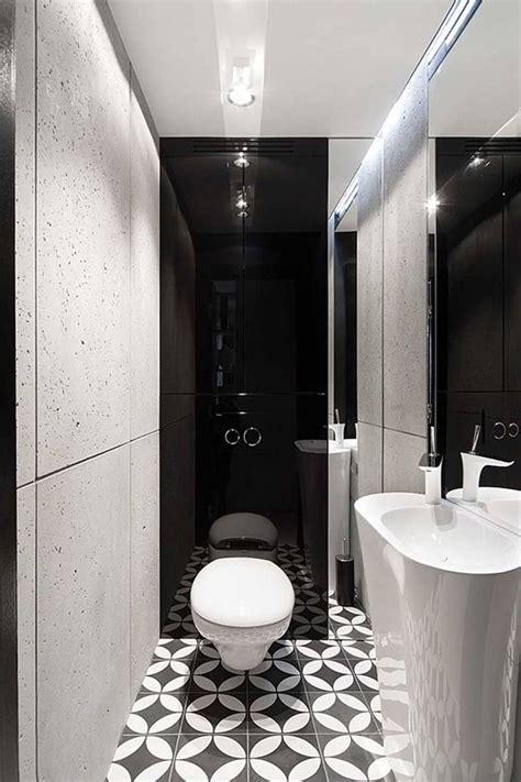 apartment interior design  black  white colors