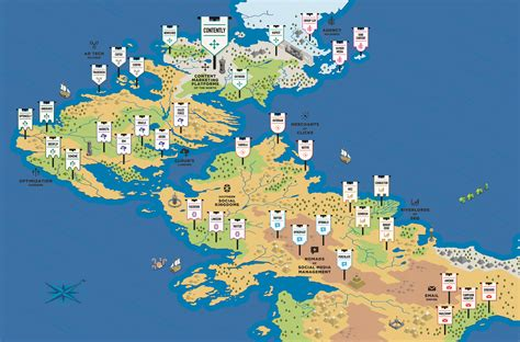 game  thrones style map   marketing