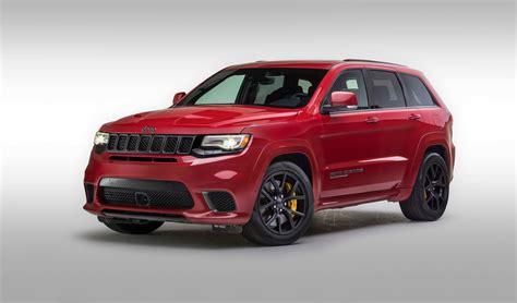 jeep grand cherokee trackhawk  hellcat powered