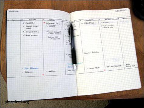 Diy Moleskine Day Planner From Pinspired  Diy Journals