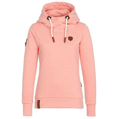 Simple Fall Winter Hoodie Outfit Girls Sport Cashmere Top Pure Color Women Sweater | Sweaters ...