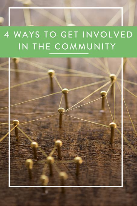 4 Ways To Get Involved In The Community • The Inspired Home