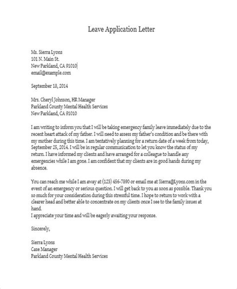36 application letter sles free premium templates
