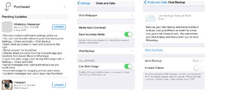 whatsapp update for ios finally brings low data