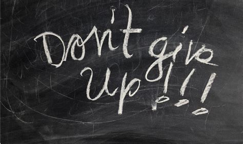 How To Not Give Up  8 Strategies For Not Quitting