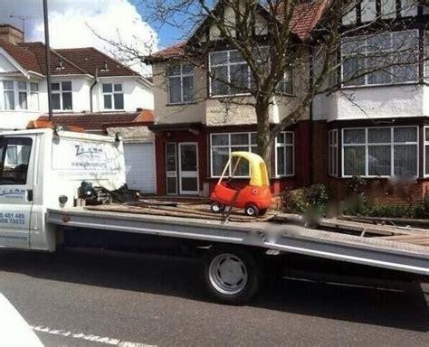 car broke       towed humor funny