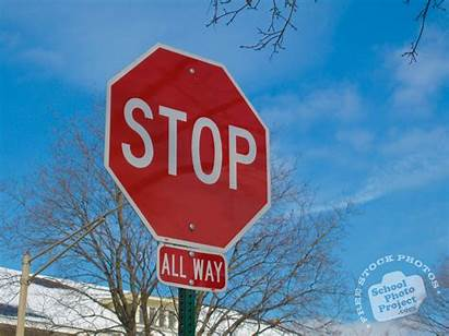 Stop Sign Way Signs Road Traffic Give