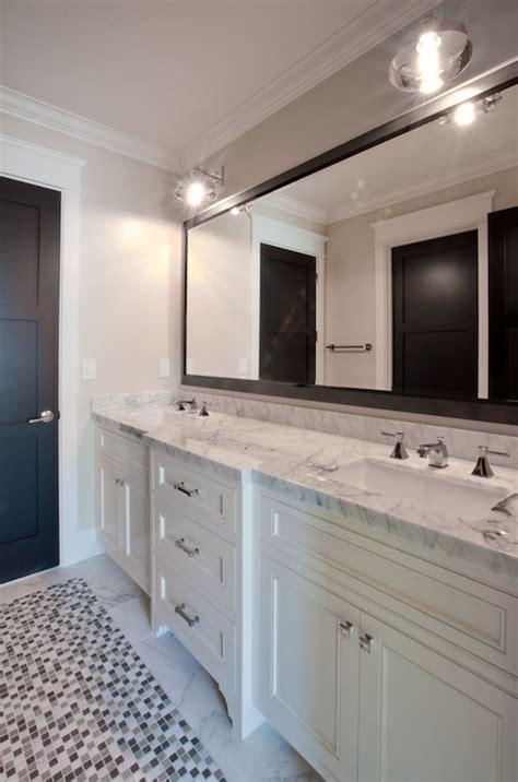 kohler brockway gray framed bathroom mirror design ideas