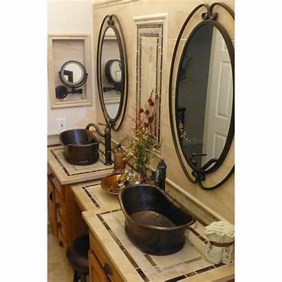 Copper Hammered Sink Vessel Bath Tub Premier
