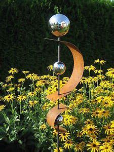 Gartenschmuck Aus Metall by Gartendeko Skulptur Edelrost Rost Edelstahl Stele Metall
