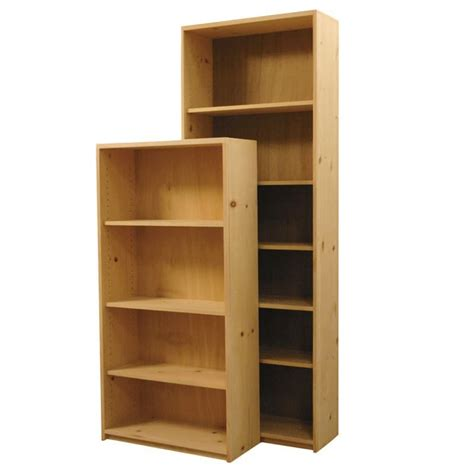 Pine Bookcases Furniture by The Basic Bookcase Is Made Of Real Wood And Is Fully Assembled