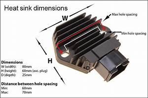 Regulator Rectifier Honda Cbr125 Nsr125 Vt125c Xl125v