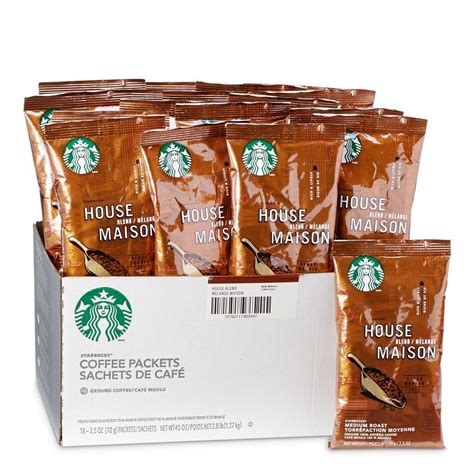 To give your coffee the best possible flavour, use filtered or bottled water. Starbucks Coffee House Blend Ground Coffee | Starbucks House Blend