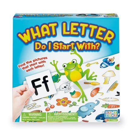 Or make the game more challenging for your students and add a vocabulary element. What Letter Do I Start With? Family Board, WHAT LETTER DO I START WITH: It's a race to the ...