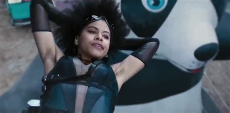 actress playing domino in deadpool 2 deadpool 2 s zazie beetz talks about domino s armpit hair