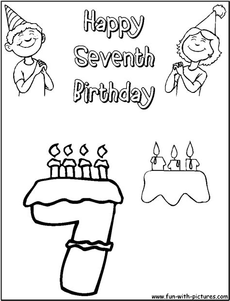 birthday coloring pages  printable colouring pages