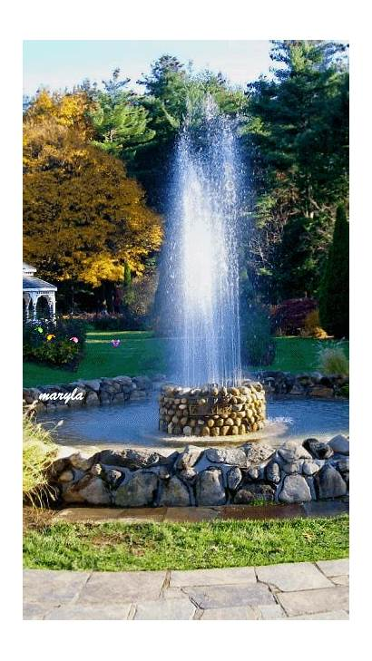 Screensavers Fountain Mobile9 Mobile Waterfall Nature Landscapes