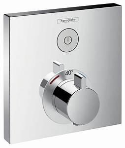 Hansgrohe Thermostat Unterputz : hansgrohe thermostat unterputz showerselect fertigset 1 verbraucher chrom 15762000 ~ Frokenaadalensverden.com Haus und Dekorationen