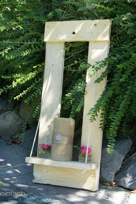 Diy Gartendeko Holz by Basteln Mit Twercs Diy Mit Paletten Gartendeko Einfach