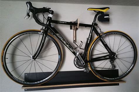 Fahrrad Wandhalter Garage by Fahrrad Wandhalterung Bauanleitung Zum Selber Bauen