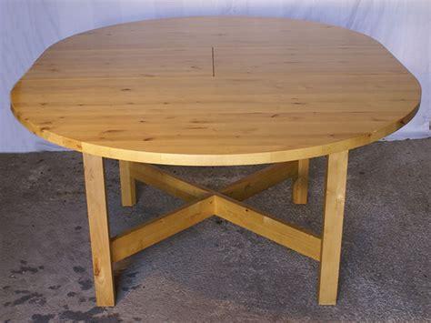cuisine bois massif ikea table ronde bois massif ikea 20171027093600 tiawuk com