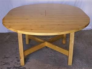 Table Ronde Ikea : table ronde ikea norden bouleau massif occasion en france ~ Melissatoandfro.com Idées de Décoration