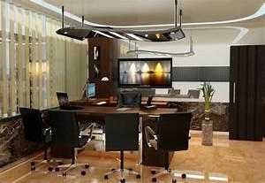 Foundation Dezin & Decor...: Director's Office Cabin Design.