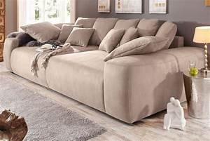 Günstige Big Sofa : home affaire big sofa breite 302 cm bestellen baur loft living pinterest ~ Frokenaadalensverden.com Haus und Dekorationen