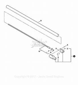 Echo 90091 Complete Shaft Assembly Parts Diagram For Main
