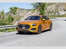 Audi SQ8 seen testing undisguised ahead of December