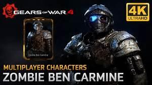 Gears Of War 4 Multiplayer Characters Zombie Benjamin