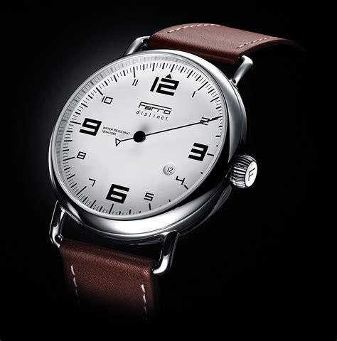 Ferro Distinct 2 Singlehand Watches Ablogtowatch