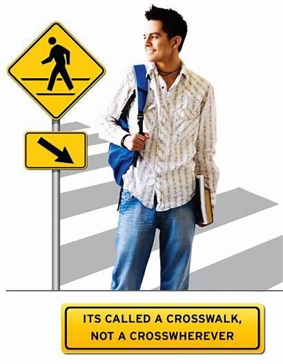 Safety Pedestrians Pedestrian Tips Safe Crosswalk Flyer