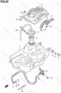 Suzuki Atv 2000 Oem Parts Diagram For Fuel Tank